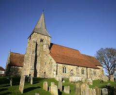 St Bartholemews Burwash (Adam Swaine) Tags: uk winter england english church canon sussex seasons britain churches villages graves churchyard eastsussex 2015 villagechurch burwash swaine