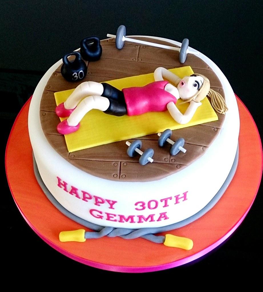 Kettlebell Cake Images