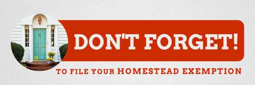 Texas  Homestead Exemption Property Type