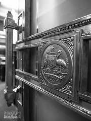 Into the Chamber - Old (HelenaSlade Photography) Tags: door chamber canberra senate oldparliamenthouse doorlock