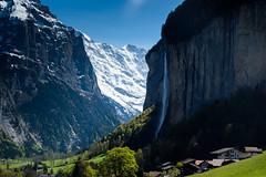 Yosemite-Feeling. (Steffen Knalltte) Tags: alps schweiz switzerland olympus berge alpen lauterbrunnen eiger omd jungfrau mnch berneroberland em5markii