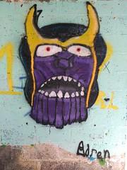 Street-Art Santa Cruz - Arte okupa [#12] (reinh_3008) Tags: streetart wall graffiti mural devil teneriffa murales teufel fratze artobject arteokupa