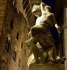 Polyxena Sculpture (jfusion61) Tags: italy sculpture statue florence nikon fedi palazzo dei pio vecchio loggia 2470mm lanzi polyxena d810
