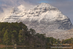 The Big Grey One (Shuggie!!) Tags: trees snow mountains pine clouds forest landscape scotland morninglight highlands williams hills karl hdr torridon westerross zenfolio karlwilliams