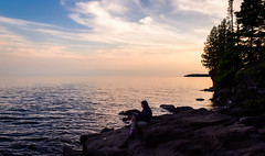 Moment of Solitude Cascade || Summer 2014 (manaelm1) Tags: greatlakes northshore lakesuperior