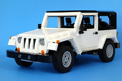 Jeep Wrangler (LegoMarat) Tags: lego jeep 4wd rc wrangler modelteam legotechnic powerfunctions