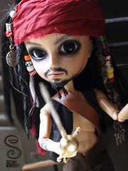 Captain Jack Sparrow (Nepenthe (Sutura Workshop) - NEW ACCOUNT!) Tags: black sexy male texture glass rock tattoo dreadlocks hair beard jack miniature eyes doll dolls natural skin map ooak pirates flock tan makeup lips chips tattoos full plastic sparrow rocker wig pirate captain handpainted sword groove caribbean 16 custom fc dreads commission eyebrows lids custo alternative tatuaje eyelids mueca realistic flocking nepenthe maquillaje tattooed encargo treassure sutura faceup taeyang glasschips suturaworkshop