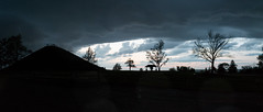 Stormy Sky-2749-Pano (TEngland Photography) Tags: sunset sky storm weather skyline clouds evening aftertherain miamisburg