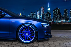 audi-s5-f451-spec2-polished-electron-blue-brushed-lip-7 (AvantGardeWheels) Tags: blue euro electron audi coupe lowered forged polished stance s5 directional 2dr fitment f451