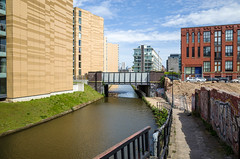The view towards Castlefield (jason_hindle) Tags: manchester unitedkingdom manchestershipcanal
