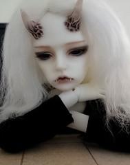 (claudine6677) Tags: 2 ball doll horns demon devil bjd freddy msd jointed teufel dmon dollzone freddy2