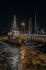 DSC_3642_1024 (Vrakpundare) Tags: longexposure winter seascape ice river gteborg boat cityscape waterfront nightshot sweden gothenburg sverige klippan gtalv nattbild henryblom vrakpundare