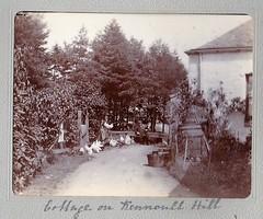 Cottage on Kinnoull Hill Perth Scotland 1903 (Bury Gardener) Tags: uk blackandwhite bw vintage scotland perth oldies 1900s 1903