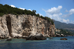 Island cliff (Vojinovic_Marko) Tags: travel sea water nikon hellas greece sivota ioniansea ionian syvota  grka   jonskomore d7200 nikond7200