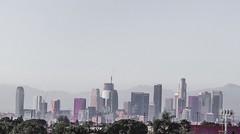 Downtown LA (luisgudino31) Tags: california city sky skyline buildings landscape la losangeles downtownla