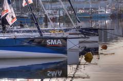 TransAt Yachts 30th April 2016 #3 (JDurston2009) Tags: blue sailing harbour yacht plymouth barbican devon sailingboat suttonharbour transat reflec transatbakerly