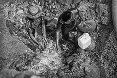 Chain of Poverty (akhlas_viewfinder) Tags: poverty blackandwhite water monochrome outdoor poor dailylife migration sylhet bangladesh childlabor survive poorpeople jaflong livelihood stoneworker stonemine womenandmen stonelabor deepmine stonemining migratedrefugee landlesspeople chainofpoverty migratedstonelabor