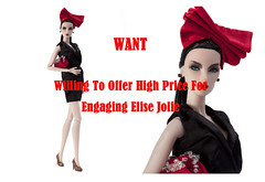 Willing To Offer High Price For Engaging Elise (William_Tso) Tags: toys doll integrity engaging jasonwu elisejolie engagingelisejolie