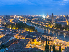 Verona (Aloha2110) Tags: nightphotography italy verona travelphoto bluetime