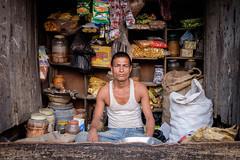 Village shopkeeper (Gerrykerr) Tags: nepal flickred 2016