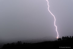 Lightning (Claudia Melchiorri) Tags: light rain stormy thunderstorm lightning pioggia marche temporale fulmine