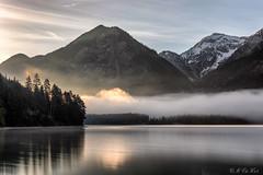 Luminous fog (MC-80) Tags: mist lake mountains alps fog reflections austria tirol sterreich nebel berge alpen luminous tyrol mistysunrise heiterwang heiterwangersee nebelstimmung