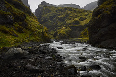 Where Fairytales are Born (Q Sawalha) Tags: travel black mountains nature rock fog stone river volcano lava iceland moss tour south hike adventure peaks volcanic geothermal