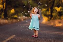 Beautiful Vella (www.sergeybidun.com) Tags: road trees girl kids forest child small bubbles