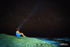 Stargazing (Bert Esposado) Tags: nightphotography sky beach photography lights star asia sony philippines iloilo stargazing