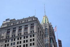 Old Baltimore (Sam DeGenova) Tags: baltimore buildings city cars sun shine reflections people street america
