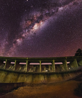 Milky Way over Canning Dam, Western Australia