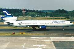 Finnair | McDonnell Douglas MD-11 | OH-LGA | Tokyo Narita (Dennis HKG) Tags: finnair ay fin md11 mcdonnelldouglas aircraft airplane airport plane planespotting tokyo narita rjaa nrt ohlga oneworld