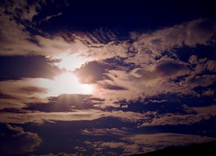 sunset (Sebastian Schmeinck) Tags: color colored dark darkness shadow could sky light sonne schatten dunkel himmel wolken purple perspective abstract minimal art view fave outdoor canon eos nature
