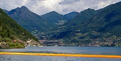 Floating Pier (@WineAlchemy1) Tags: lombardia christoandjeanneclaude lombardy monteisola franciacorta lagoiseo sulzano floatingpiers maragliopesceria