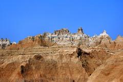 Geological Formations - Badlands National Park, Western South Dakota (danjdavis) Tags: southdakota nationalpark badlands badlandsnationalpark rockformations geologicalformations
