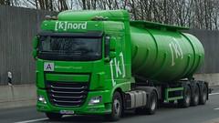 D - (k)nord DAF XF 106.460 SC (BonsaiTruck) Tags: truck 106 lorry camion trucks lastwagen daf lorries lkw xf lastzug knord