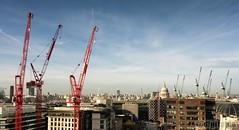 Reach For The Skies (digitalCG) Tags: london st construction pauls cranes