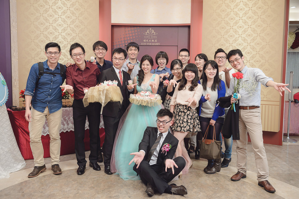 婚禮攝影-台南情定婚宴城堡永康館-92