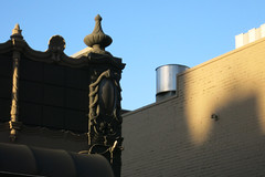 Complex and Simple (Blinking Charlie) Tags: firsthill seattle washingtonstate usa 2016 canonpowershots110 blinkingcharlie glazedterracotta architecturalornamentation urn cartouche shell scroll tulip palmette madisonstreet