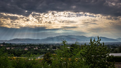 This morning (gianlucamulone) Tags: canon eos 100d morning clouds hdr landscape panorama