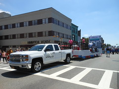 Clary Anderson Arena Float, Aging In Montclair, 2016 Independence Day Parade, Montclair, NJ (smaginnis11565) Tags: claryandersonarena float 7416 independenceday parade montclair newjersey essexcounty