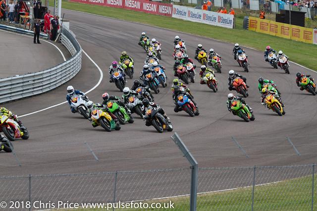 Pirelli National Superstock 600 Race, Thruxton July 24th 2016