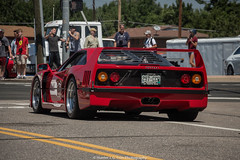 F40 (Hunter J. G. Frim Photography) Tags: supercar colorado automezzi italian ferrari f40 1991 red rosso corsa rare v8 turbo twinturbo ferrarif40 rossocorsa wing carbon race