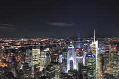 Cityscape (reflexer) Tags: amerika empirestatebuilding manhattan nachtaufnahme newyork newyorkcity usa nightshot nyc ny timessquare lichter lights nacht night wolkenkratzer skyscraper america stadt city urban clear