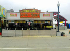 Delicious Sirloin Tips & more! (mrgraphic2) Tags: indianapolis indiana 2016 sirloin tips sign steak statefair lamppost concession fair