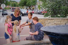 Everyone Gets A Wish (michael.veltman) Tags: family allison wishing well water fountain boys girls naperville