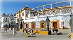 Arnes de la Real Maestranza, Sevilla, Andalucia, Espana (claude lina) Tags: claudelina espana spain espagne andalucia andalousie sevilla sville ville city town architecture arne realmaestranza