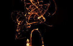 light painting. (christos fousekis) Tags: blacklight black lights