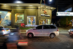 Rip Curl boutique (A. Wee) Tags: kuta bali  indonesia  street night traffic ripcurl store boutique