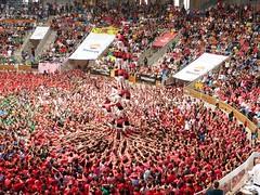 z Castells conc Dmg 2016 (353) (calafellvalo) Tags: castellscastellerscastelleratarragonatapcollespiascalafellvalotowerscastlesworldheritagevalorpatrimonio concusdecastells concurscasteller concursdecastellsdeldiumenge concursdecastellsdeldiumenge2016 tap tarracoarenaplaza tarragona catalonia spain catalunya calafellvalo castellers castells castellera humantowers humancastles worldheritage patrimonioinmaterialdelahuanidad xiquetsdereus castellersdesabadell nensdelvendrell castellersdelaviladegrcia capgrossosdematar castellersdebarcelona castellersdesants xiquetsdetarragona collajovesxiquetsdevalls collajovexiquetsdetarragona collavellsdelsxiquetsdevalls castellersdevilafranca verds rosats liles cultura tradicin folklore tresdedeu quatradedeu torredevuit plazadetoros elmayorespectculohumano mediteranean mediterrneo fuerza valor rauxa aficin tocarelcielo pia pinya chearux redbull
